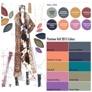 Pantone 2015 Fall Colors